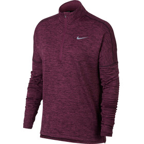 Nike Therma Sphere Element - T-shirt manches longues running Femme - rouge